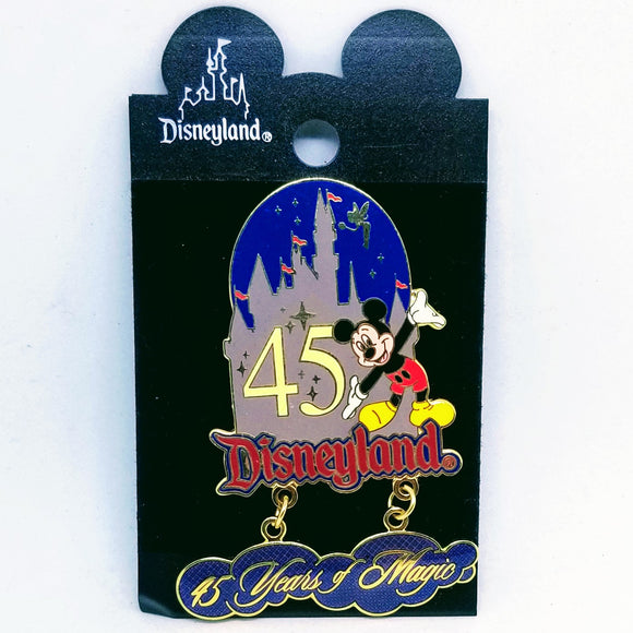 45 Years of Magic - Mickey Mouse Pin