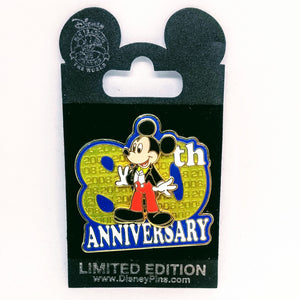 80th Anniversary Classic Mickey Pin