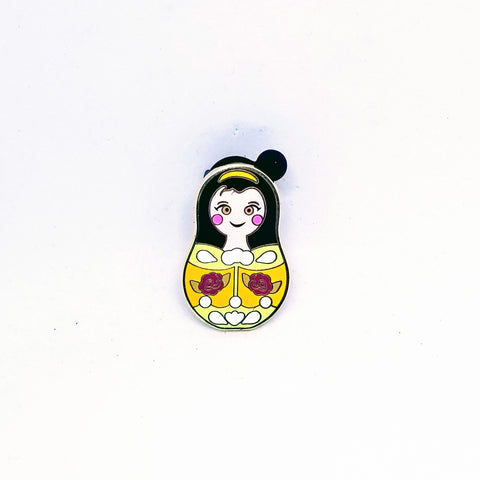 Belle Nesting Doll Pin - Mystery Bag