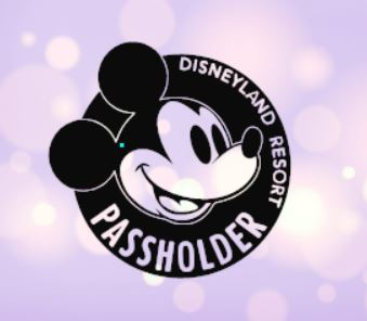 Mickey Disneyland Resort Passholder Decal