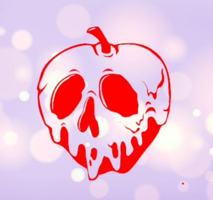 Poison Apple Decal