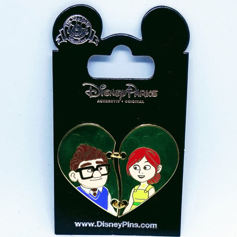 Carl and Ellie Heart Pin