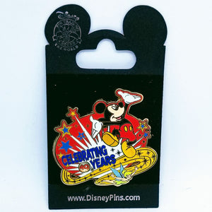 Celebrating Mickey Spinner Pin