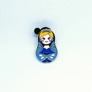 Cinderella Nesting Doll Pin - Mystery Bag