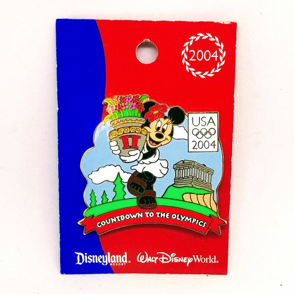 Countdown To The Olympics - Minnie Mouse Pin