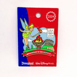 Countdown To The Olympics - Tinker Bell Pin