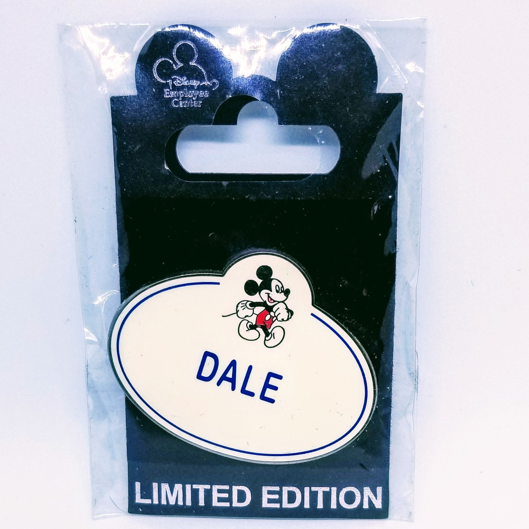 Dale Name Badge Pin