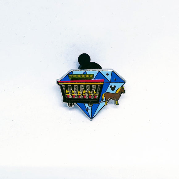 Diamond Attractions - Horse Drawn Street Car Pin