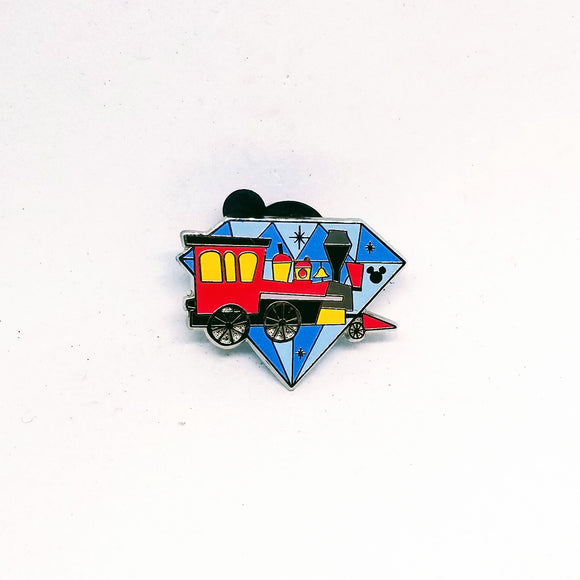 Diamond Attractions - Railroad Train Pin
