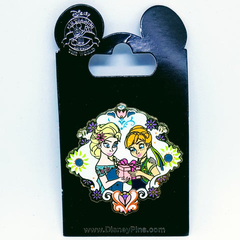 Frozen Fever Anna and Elsa Pin