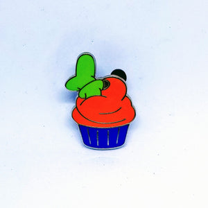 Goofy Cupcake Pin - Booster Pack