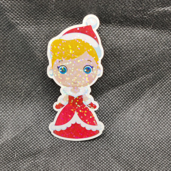 Cinderella Cutie - Christmas Sticker
