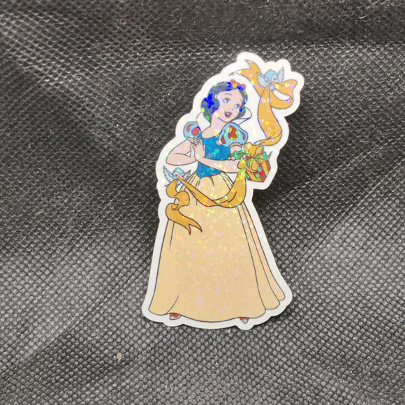 Winter Snow White Sticker