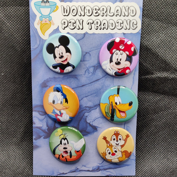 Mickey & Friends Mini Flair Set