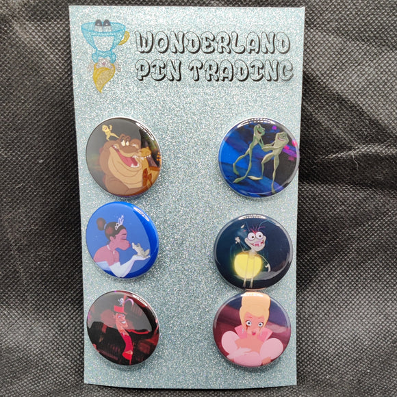 Princess and the Frog Mini Flair Set