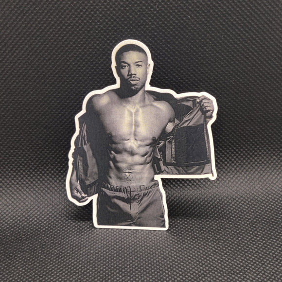 Michael B. Jordan (Black & White) Sticker