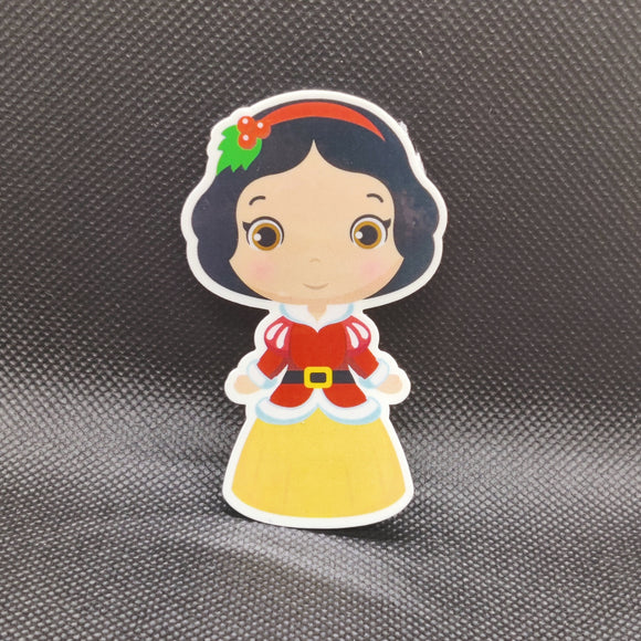 Cutie Winter Snow White Sticker