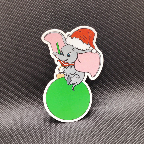 Christmas Dumbo Sticker