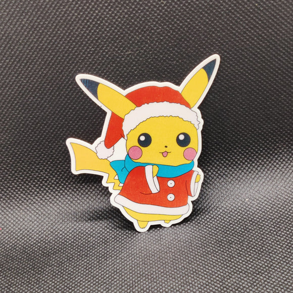 Christmas Pikachu Sticker