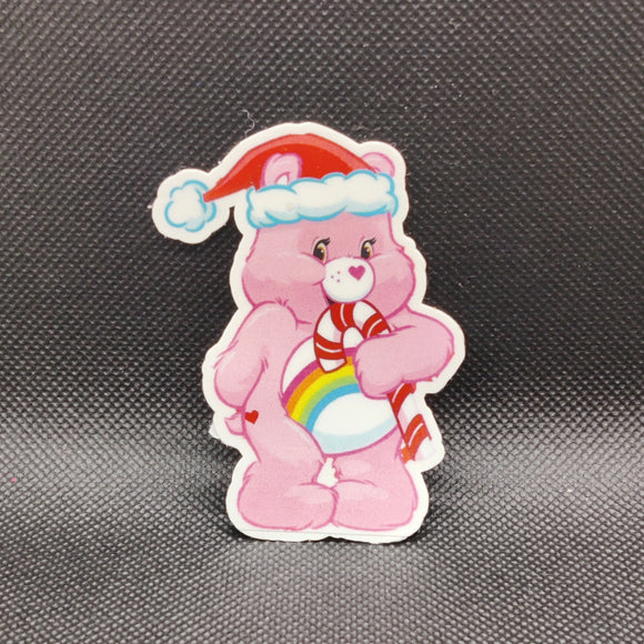 Christmas Care Bear Sticker