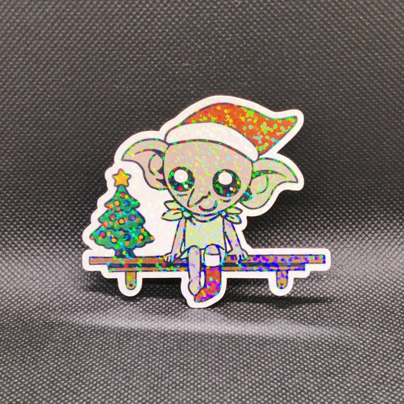 Dobby Christmas Sticker