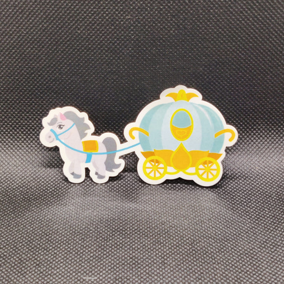 Cinderella Carriage Sticker