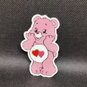 Valentine Carebear Sticker