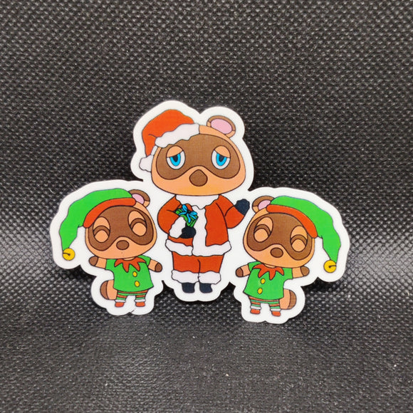Christmas Animal Crossing Sticker