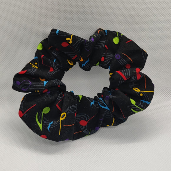Musical Notes Scrunchie