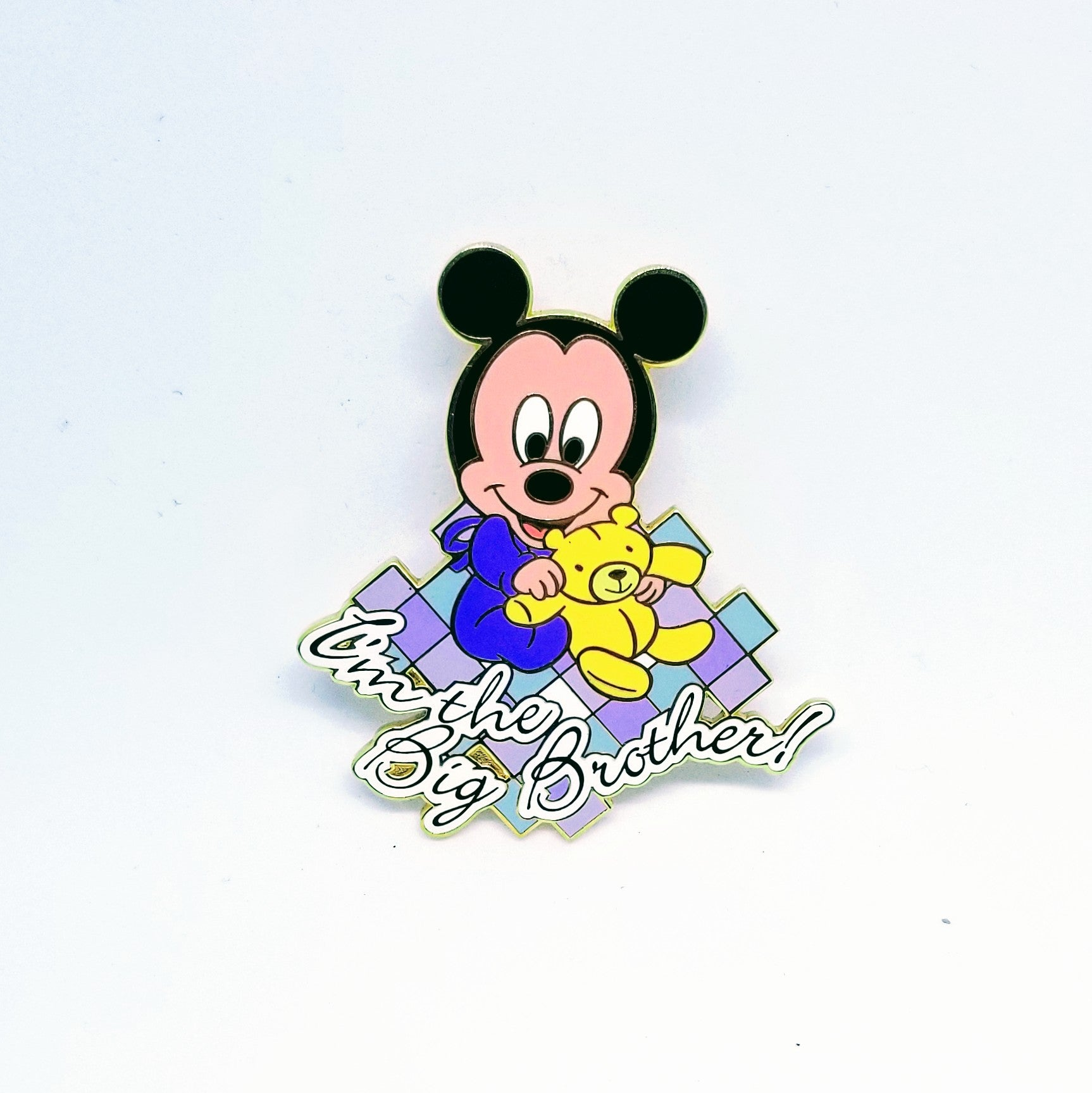 I'm The Big Brother Baby Mickey Pin