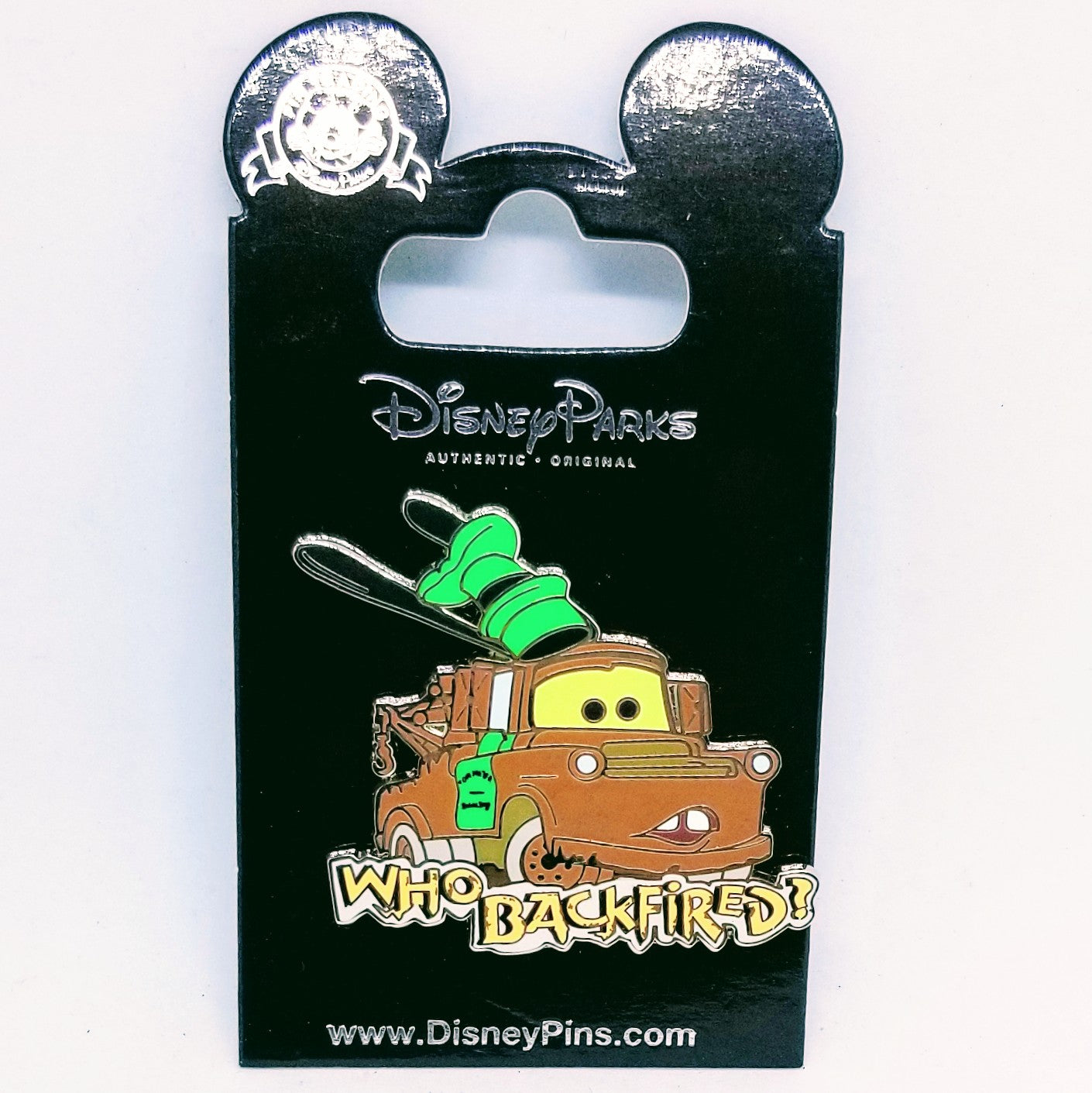 "Mater - ""Who Backfired?"" Pin"