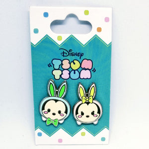 Mickey and Minnie Easter Tsum Tsum Pin