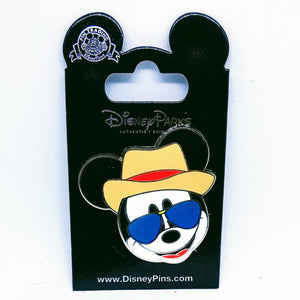 Mickey With Sun Glasses Pin