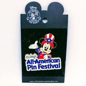 Mickey's All American Pin Festival Pin
