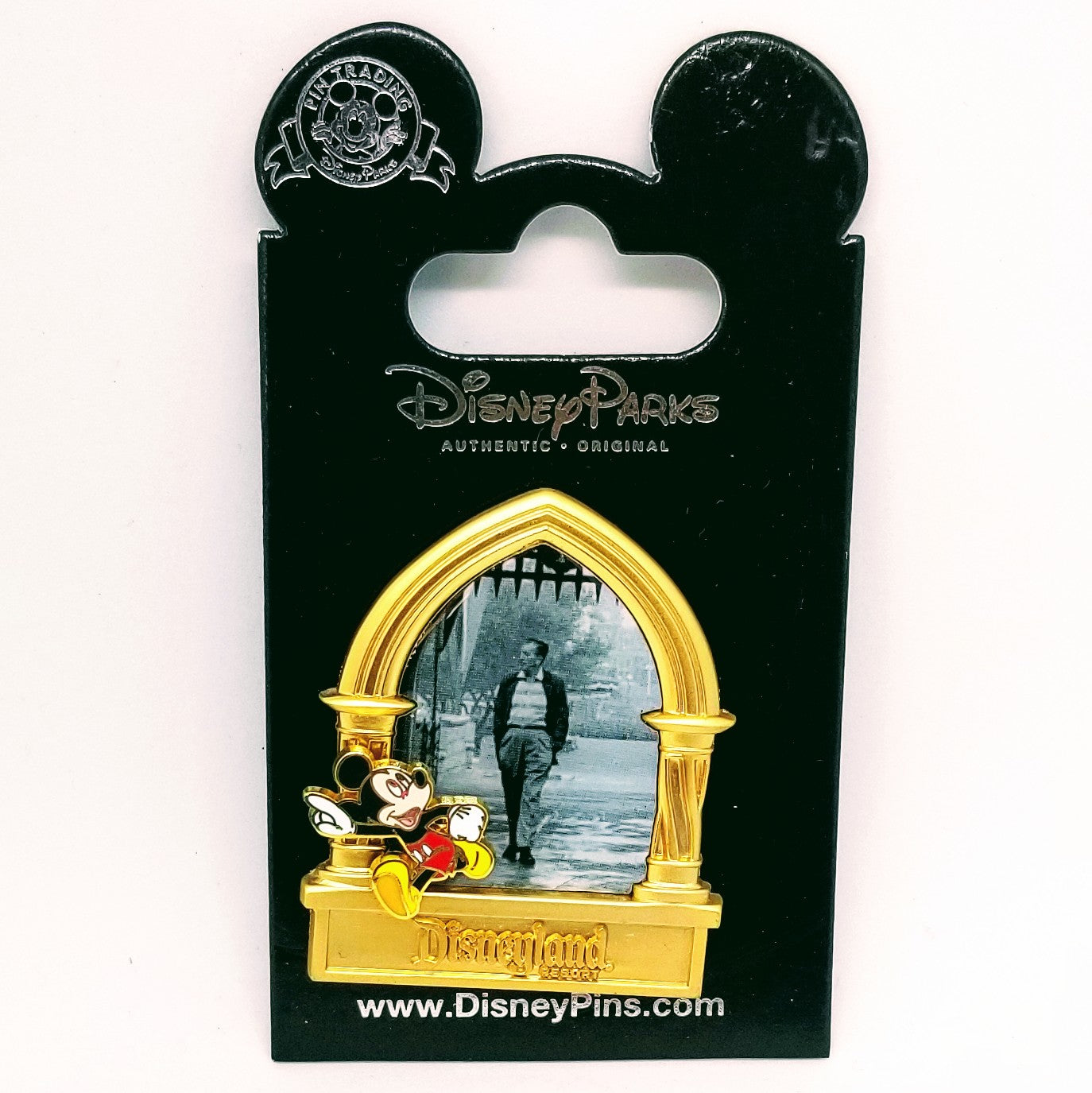 Mickey Walking with Walt Pin