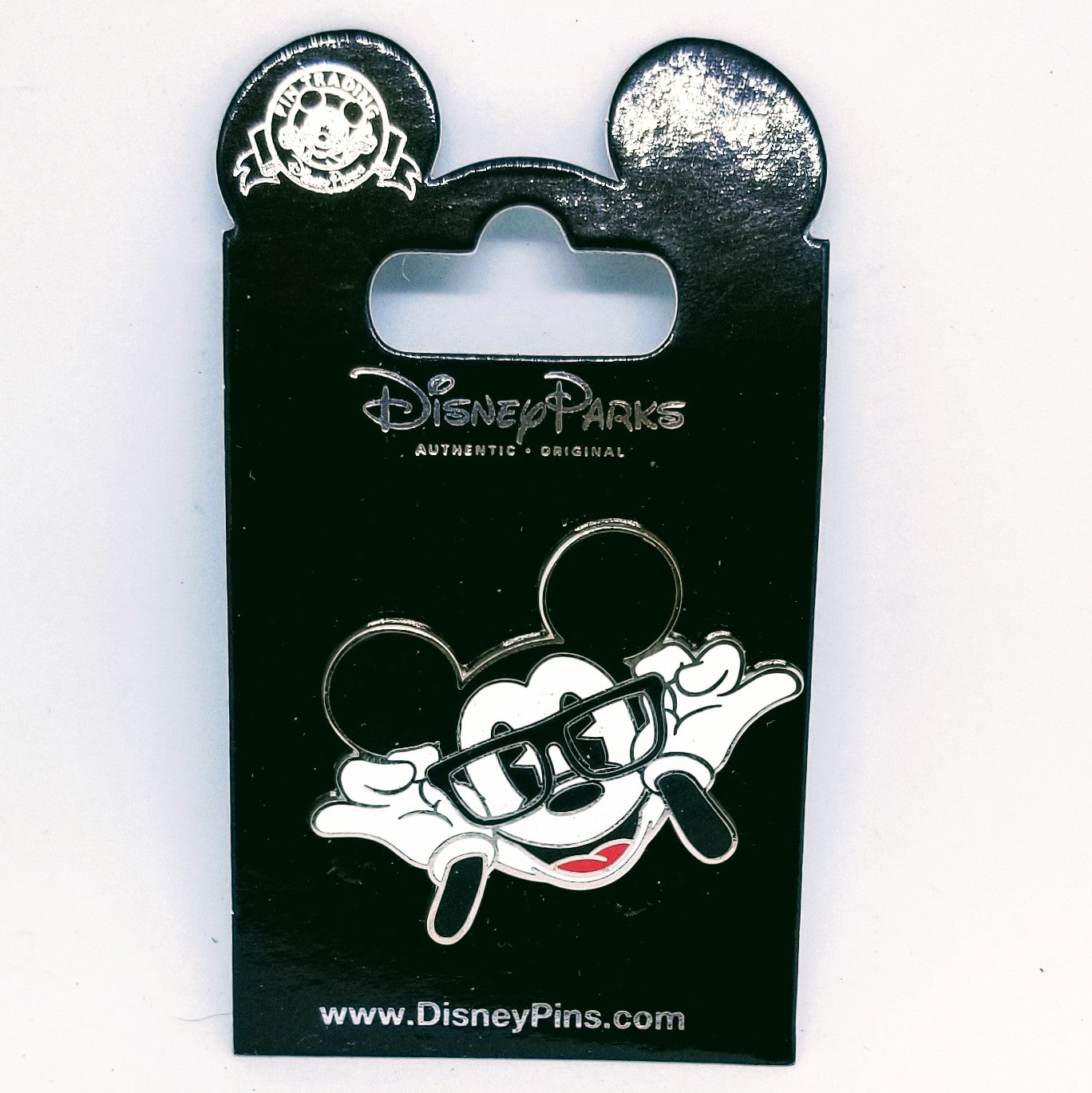 Nerdy Mickey Pin