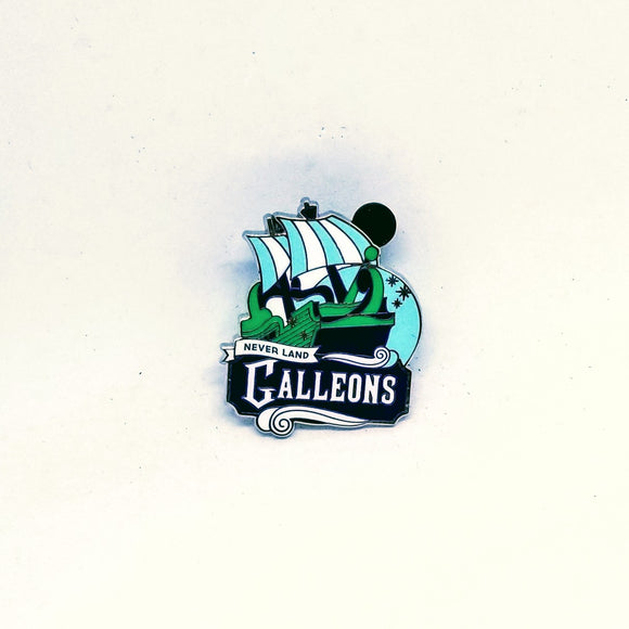 Neverland Galleons Pin - Mystery Bag