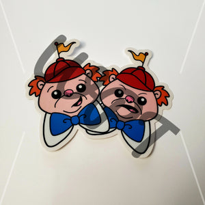 WPT Tweedles Sticker