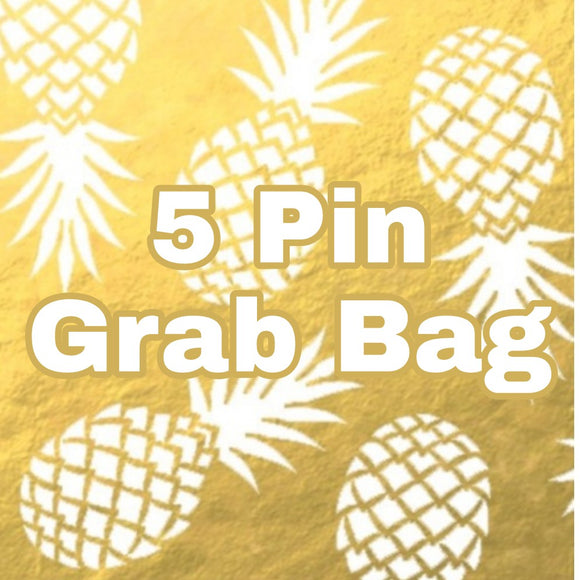 5 Pin Grab Bag