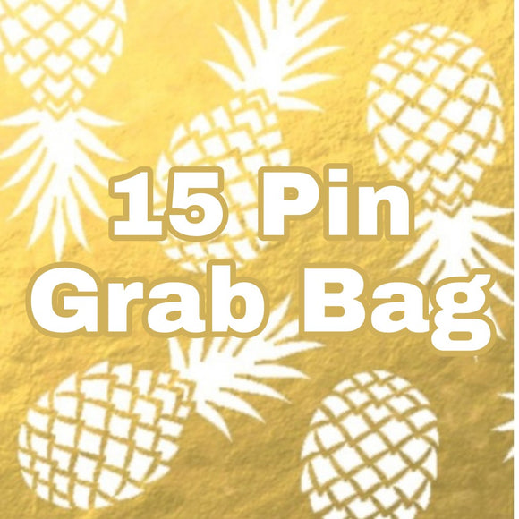 15 Pin Grab Bag