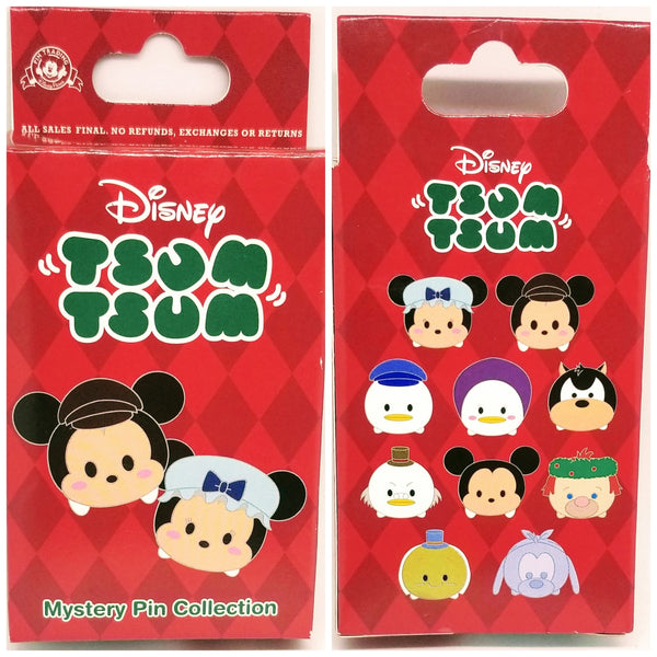 Christmas Carol Tiny Tim Tsum Tsum Pin - Mystery Box