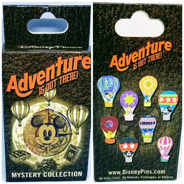 Dopey Hot Air Balloon Pin - Mystery Box