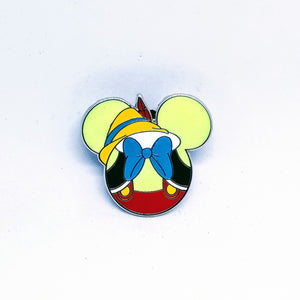 Pinocchio - Mickey Icon Pin