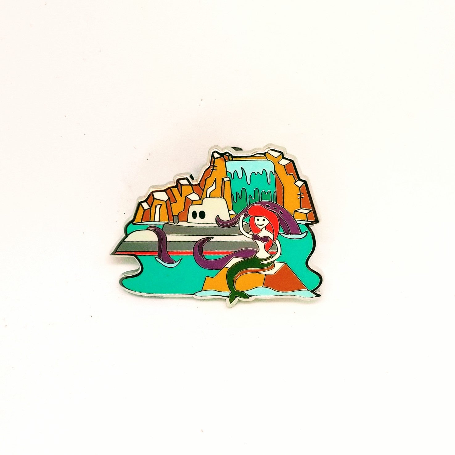 Retro Submarine Voyage Pin - Mystery Box