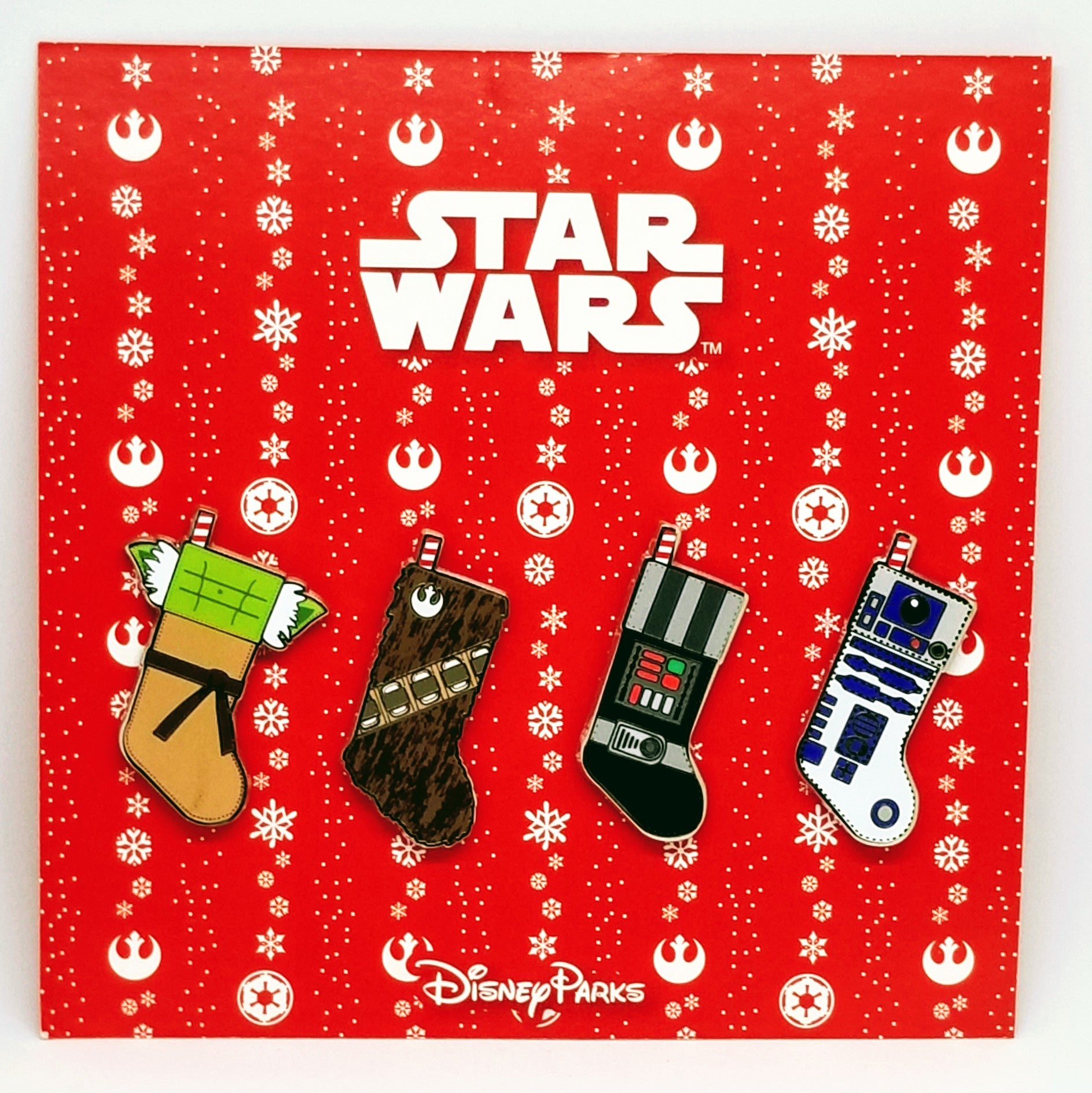 Christmas Star Wars Stockings Set