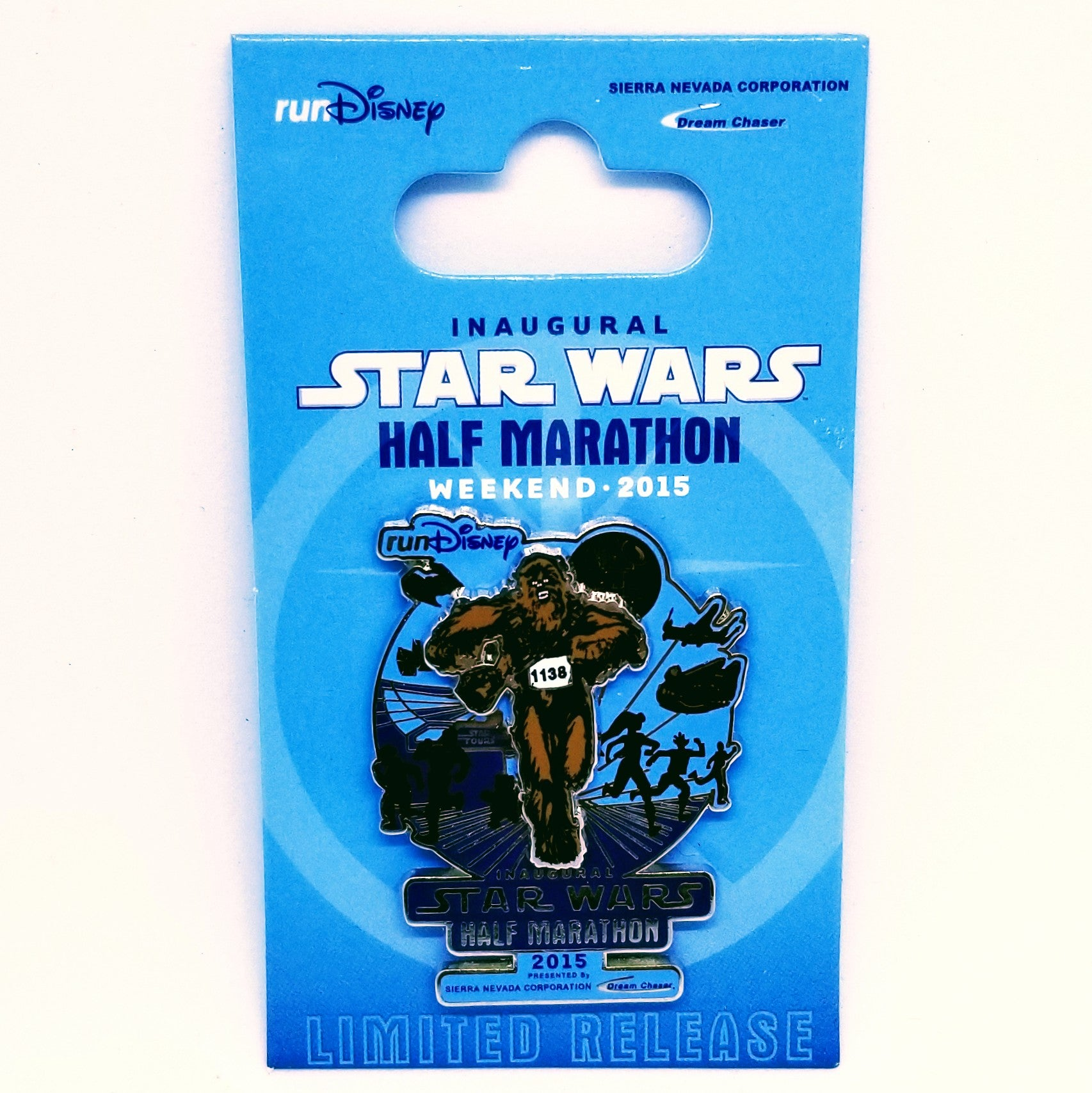 Star Wars Half Marathon Pin