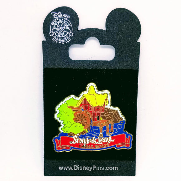Storybook Land - Canal Boats Pin