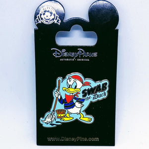 Swab the Duck Pin