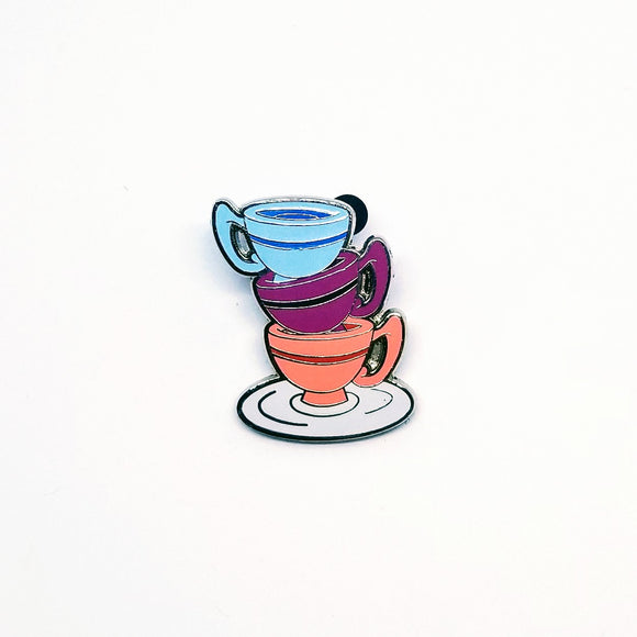 Teacups Pin - Booster Pack