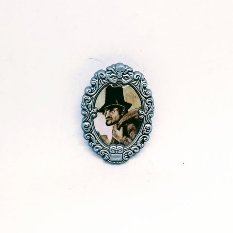 The Arsonist Portrait Pin